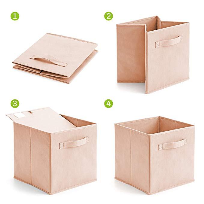 EZOWare 6 Cajas Plegables con guardado fácil
