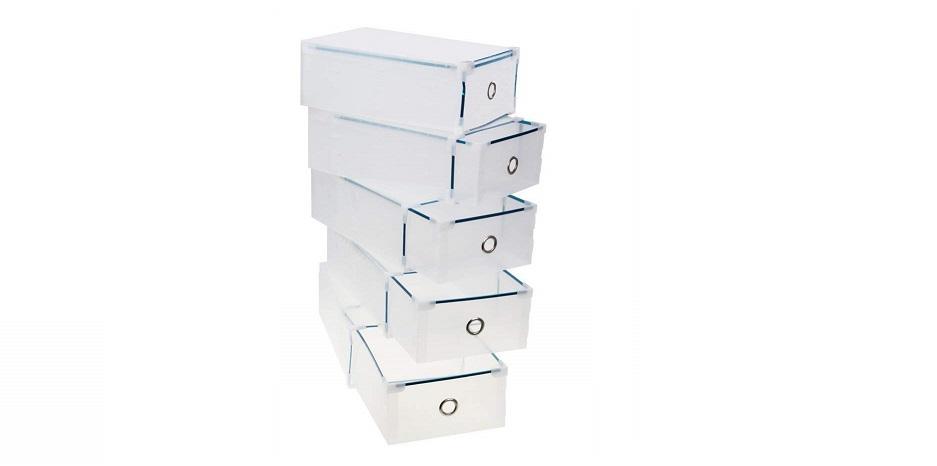 5 Cajas apilables para almacenar juguetes