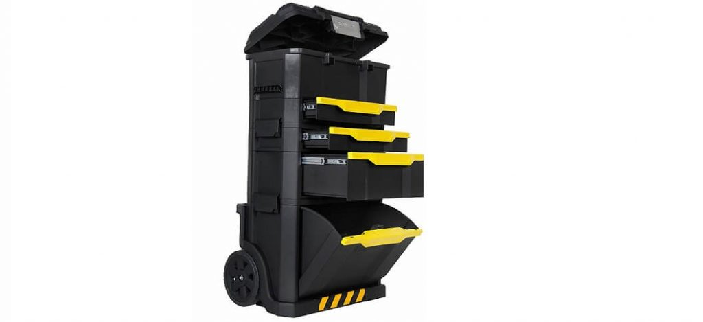 STANLEY 1-79-206 Caja almacenaje plastico con ruedas