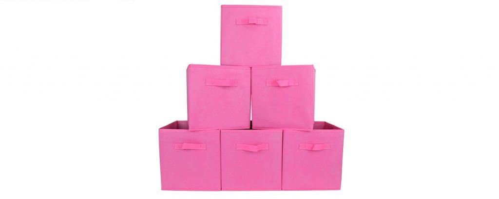 Set 6 cajas plegables de tela