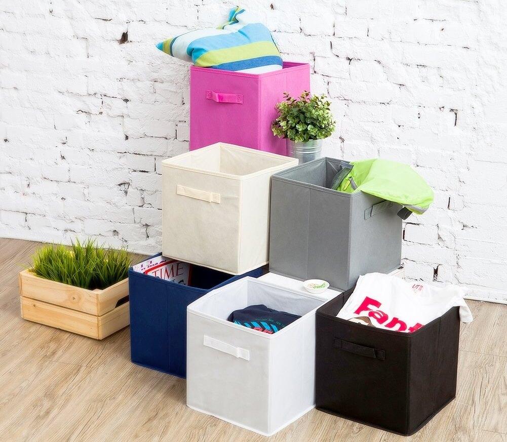 Sets de Cajas de tela plegables