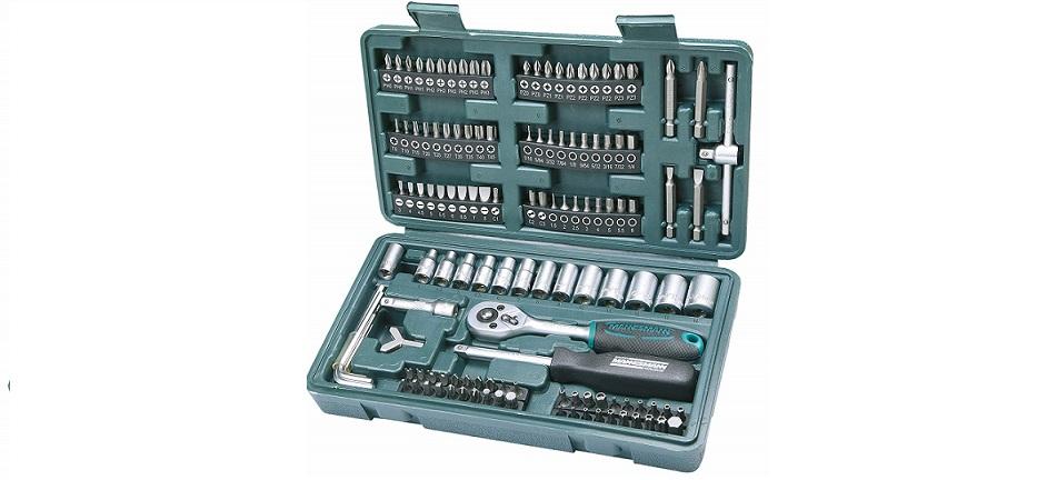 Maletín de herramientas completamente equipado