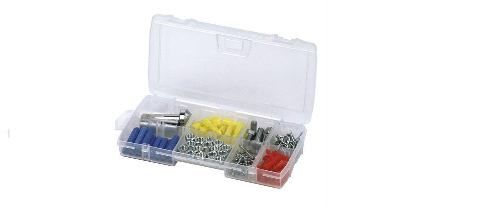 Maletín organizador de tornillos Stanley con 11 compartimentos